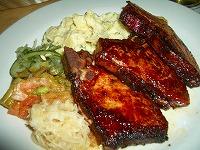pork chop@german restaurant