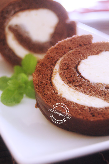 chocolate roll cake