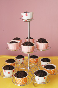 muffin cup stand