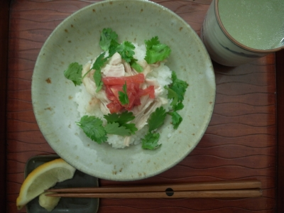 アジア風鶏飯