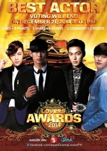 ASIAN DRAMA LOVERS AWARDS 2014