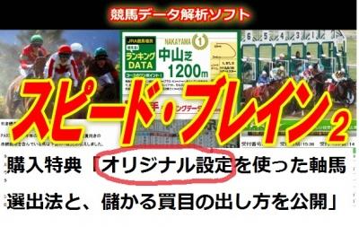 スピードブレイン2特典(競馬商材オリジナル活用法)