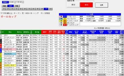 11月13東京11R直前画面