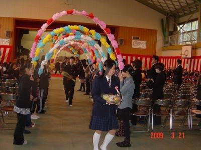 弘見小学校卒業式4