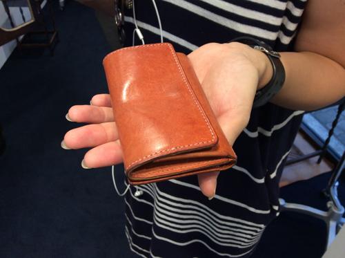 ご使用いただいている、カードケース付き小銭入れ