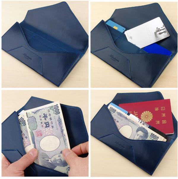 封筒型長財布コラージュ