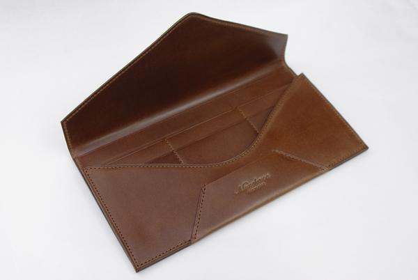 封筒型長財布内側