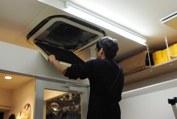 大掃除 エアコン フィルター替え