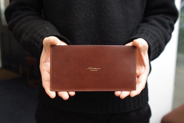 新商品の長財布 裏