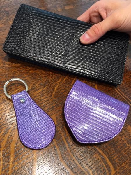 手縫い財布リザード仕様全アイテム