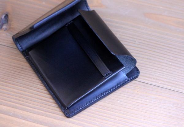 手縫いの財布