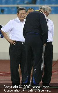 アジア杯サッカー準決勝:::日本vsサウジアラビア