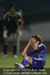アジア杯サッカー3位決定戦:::日本vs韓国