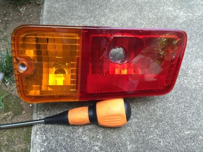 赤帽車テールランプユニット1