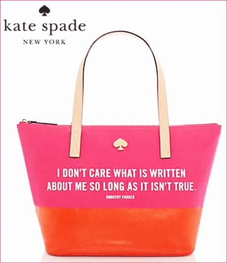 ケイトスペードのトートバッグ