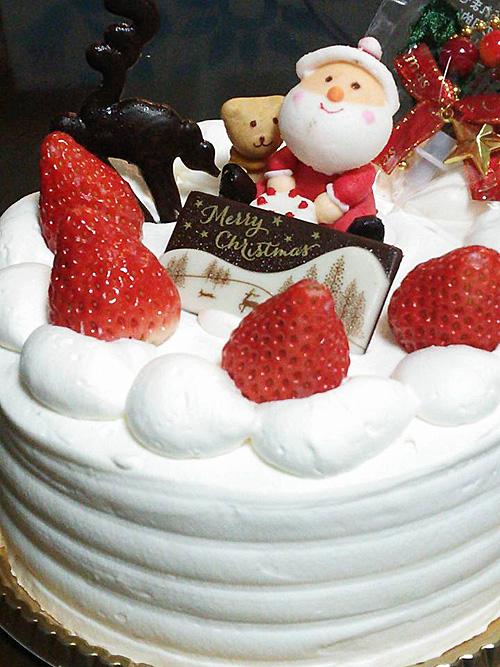 とねのクリスマスケーキ
