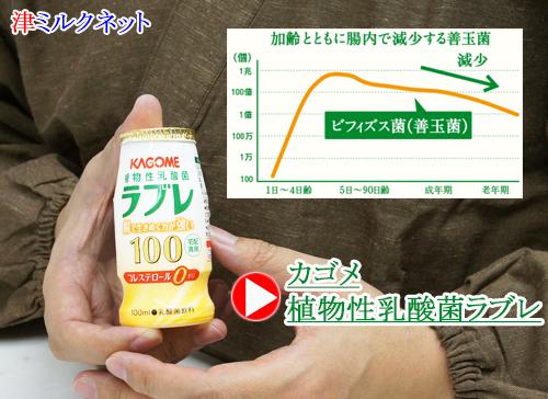 年齢とともに減少する善玉菌