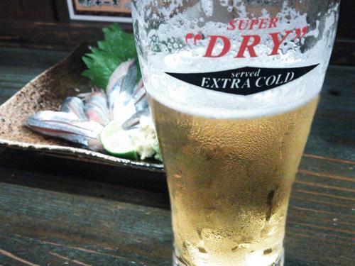 大将の氷結生ビール
