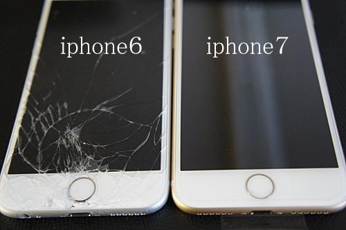 iphone6とiphone7