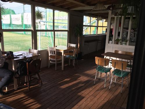 ブロッケンカフェのフットサル場