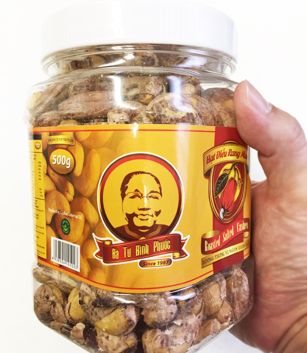 ベトナム産カシューナッツ