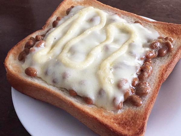 納豆食パン