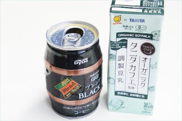 オーガニックタニタカフェ調製豆乳
