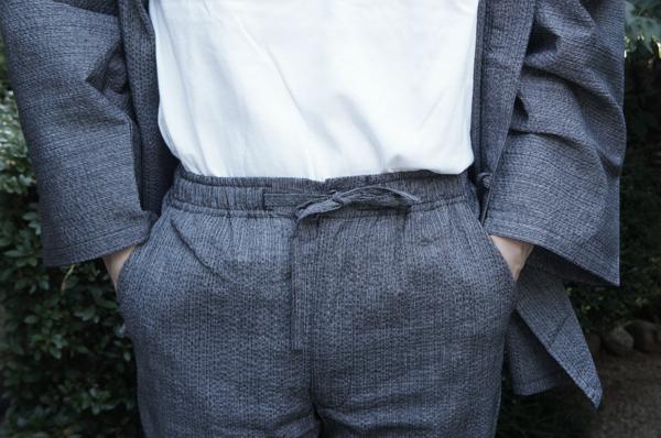 作務衣のポケット
