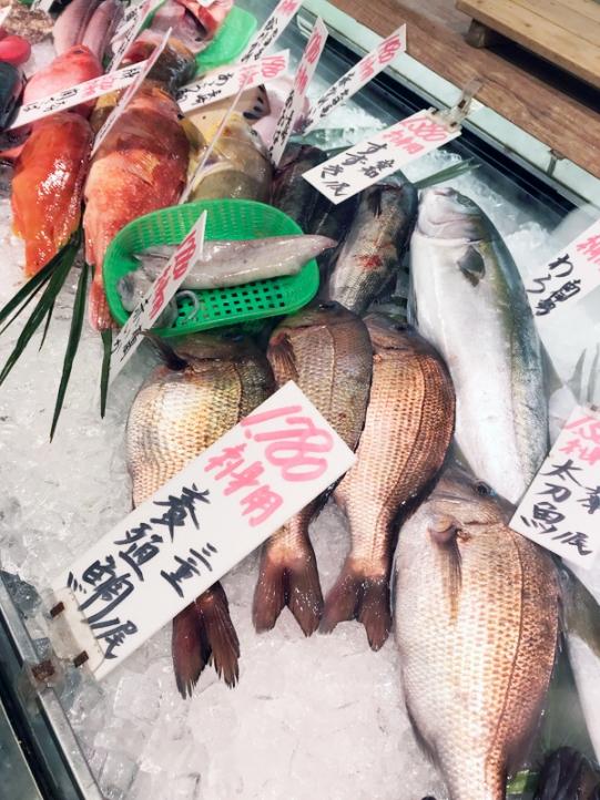 コスモスの魚売り場