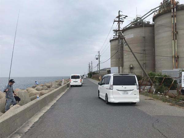 日本鋼管ヘリポート前