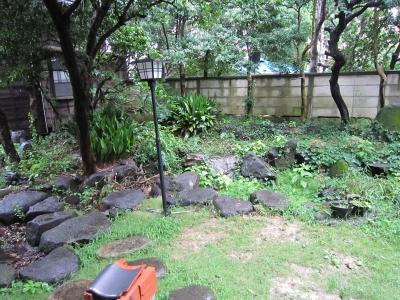 羽根木の家のお庭