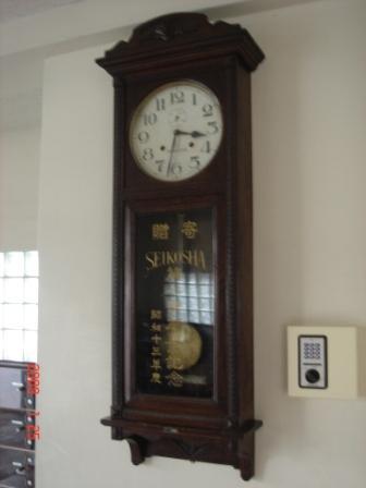 卒業記念大時計