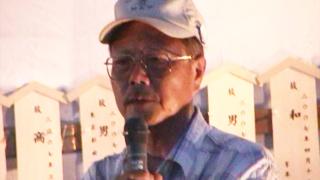 怒りの広場実行委員会・桐村さん