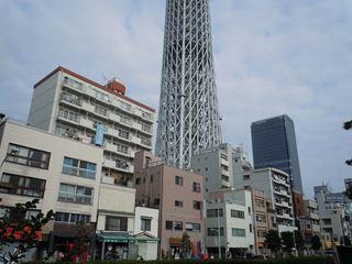 業平から見えるタワー