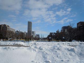 冬の大通公園