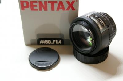 PENTAX FA50mm/F1.4