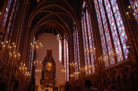 サント・シャペル寺院ステンドグラス