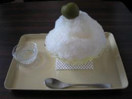 梅酒カキ氷