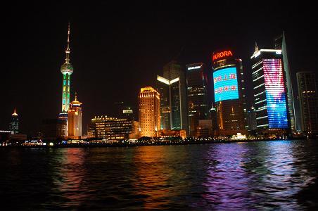 浦東の夜景