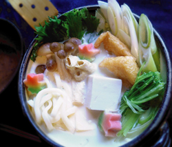 京乃雪本舗の豆乳鍋