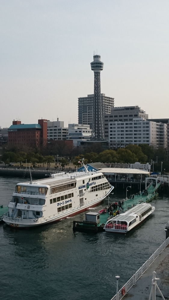 神奈川県 横浜マリンタワーとマーリンシャトル2.JPG