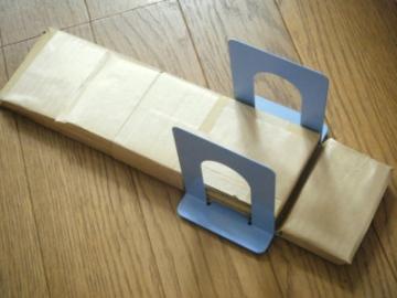 ブックスタンド改造ソープカッター台
