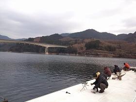 熊本・ワカサギ釣り