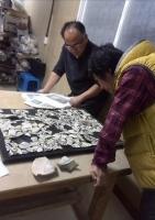 鶏龍山の陶片