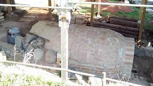 薪窯の建設