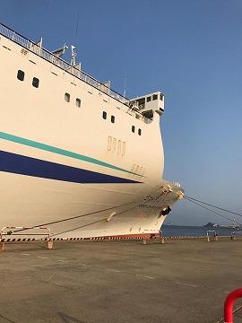 敦賀発、新日本海フェリー