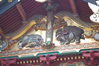 日光東照宮の象
