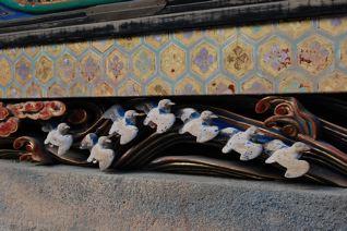 日光東照宮の渡り鳥