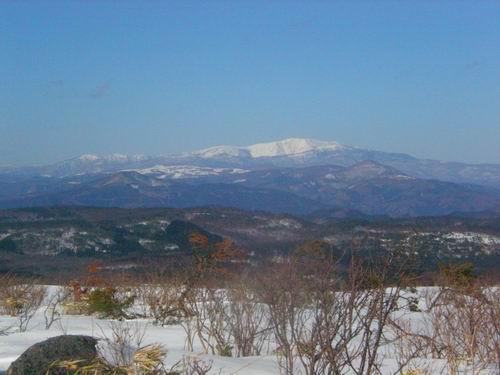 物見山から早池峰山
