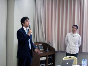 青森県中小企業団体中央会の佐藤さん